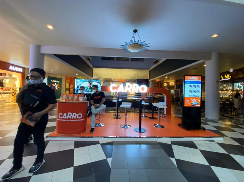 Booth CARRO Cilandak Town Square