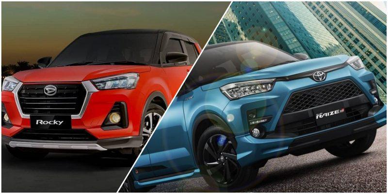 Toyota Raize dan Daihatsu Rocky